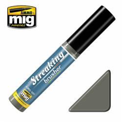 Streakingbrusher: Cold dirty grey