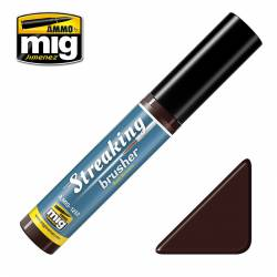 Streakingbrusher: Red brown.