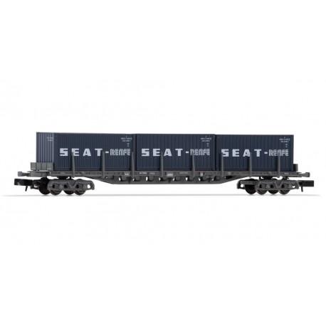 "Vagón tipo Rgs ""Seat"", RENFE."