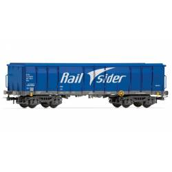Vagón Ealos con chatarra, RailSider.