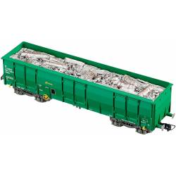 Ealos wagon w/ scrap, RENFE.
