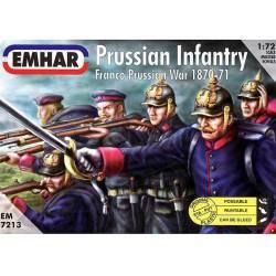 Infantería prusiana, 1870.