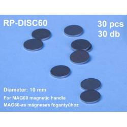 Discos de acero de 10 mm (x30).