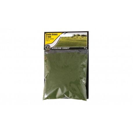 Static grass dark green (2mm).