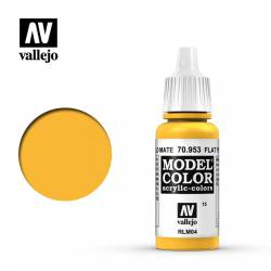 Flat yellow 17 ml, #15.