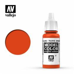 Orange red 17 ml, #27. VALLEJO 70910