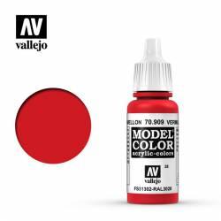 Rojo cadmio bermellón 17 ml, #28. VALLEJO 70909