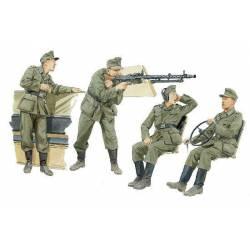 German Halftrack crewmen.