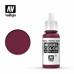 Rojo violeta 17 ml, #43. VALLEJO 70812