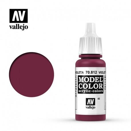 Rojo violeta 17 ml, #43. VALLEJO 70812