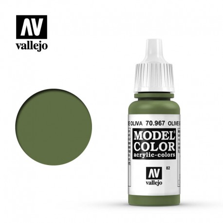 Olive green 17 ml, #82. VALLEJO 70967
