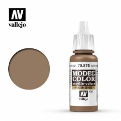 Beige brown 17 ml, #135. VALLEJO 70875