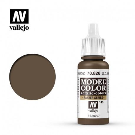 German cam. medium brown 17 ml, #145. VALLEJO 70826