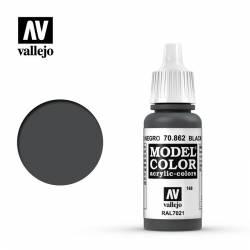 Black grey 17 ml, #168. VALLEJO 70862