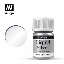 Silver 35 ml, #211. VALLEJO 70790