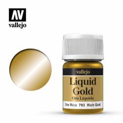 Rich gold 35 ml, #214. VALLEJO 70793