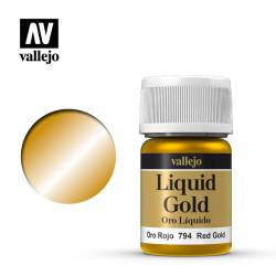 Red gold 35 ml, #215. VALLEJO 70794