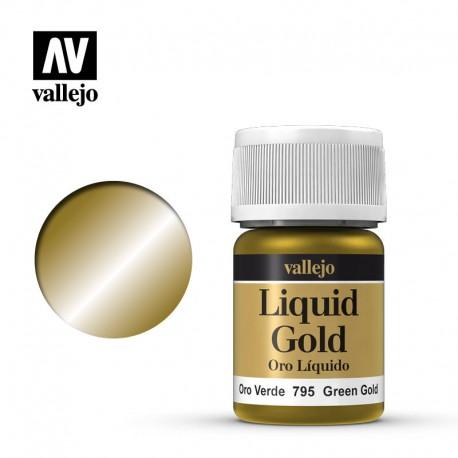 Oro verde 35 ml, #216. VALLEJO 70795