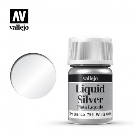 Oro blanco 35 ml, #217. VALLEJO 70796