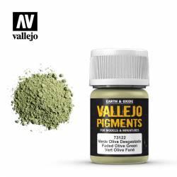 Verde oliva desgastado.