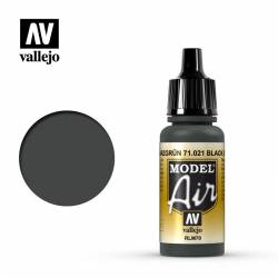 Verde Negro 17 ml. VALLEJO 71021