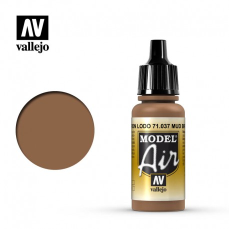 Mud Brown 17 ml. VALLEJO 71037