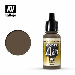 Camouflage Medium Brown 17 ml.