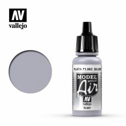 Silver (Metallic) 17 ml.