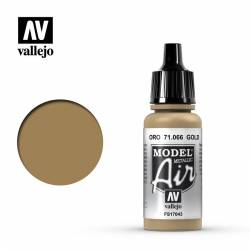 Oro (Metalizado) 17 ml. VALLEJO 71066