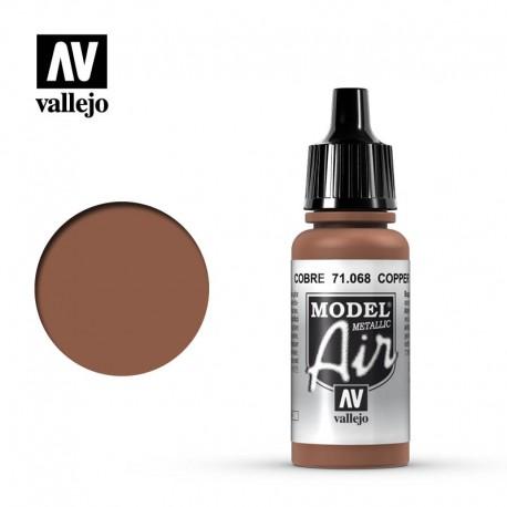 Copper (Metallic) 17 ml. VALLEJO 71068