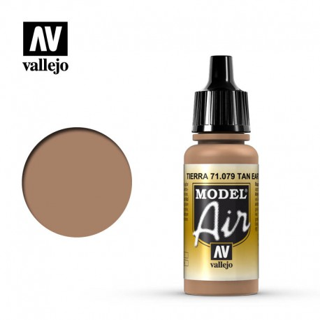 Flat Tan 17 ml. VALLEJO 71079