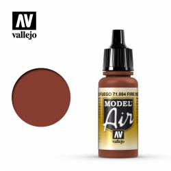 Rojo Fuego 17 ml. VALLEJO 71084