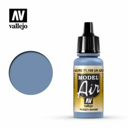 U.K. Azure 17 ml. VALLEJO 71108