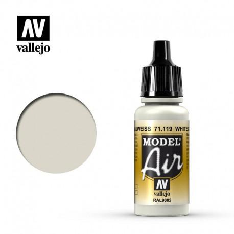 White Grey 17 ml. VALLEJO 71119
