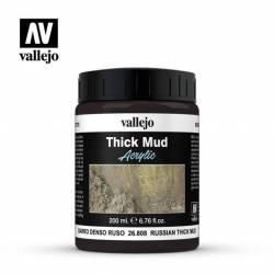 Thick bud, Russian mud.