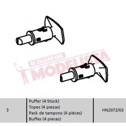 Buffer set (x4). RENFE 354.