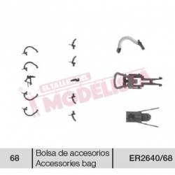 Accessories bag for locomotive 269 RENFE.