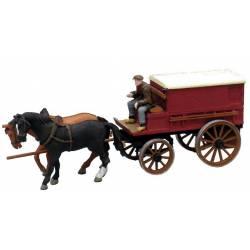 Closed farmer's wagon. ARTITEC 10.277
