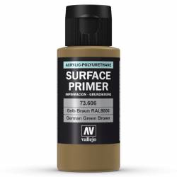 Surface primer, German Green Brown.