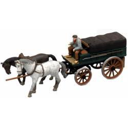 Covered farmer's wagon. ARTITEC 10.278