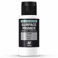 Surface acrylic-poliurethan, white.