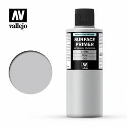 Imprimación acrílica uretano gris. 200ml. VALLEJO 74601