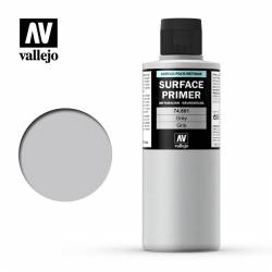 Surface acrylic-poliurethan, gray. 200 ml. VALLEJO 74601
