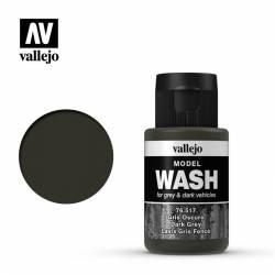 Dark grey Wash.