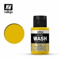 Dark yellow Wash. VALLEJO 76503