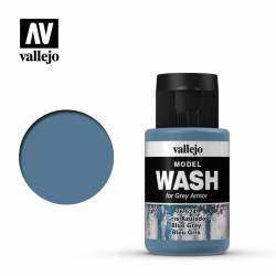 Blue Grey Wash.
