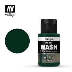 Olive Green Wash.