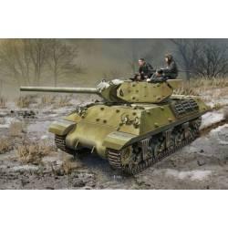 """Carro de combate M10 """"Lend-Lease""""."""