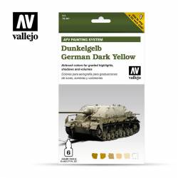 German Dark Yellow Set. VALLEJO 78401