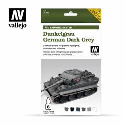 German Dark Grey Set. VALLEJO 78400